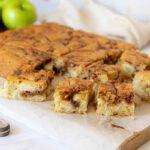 עוגת תפוחים שייש קינמון